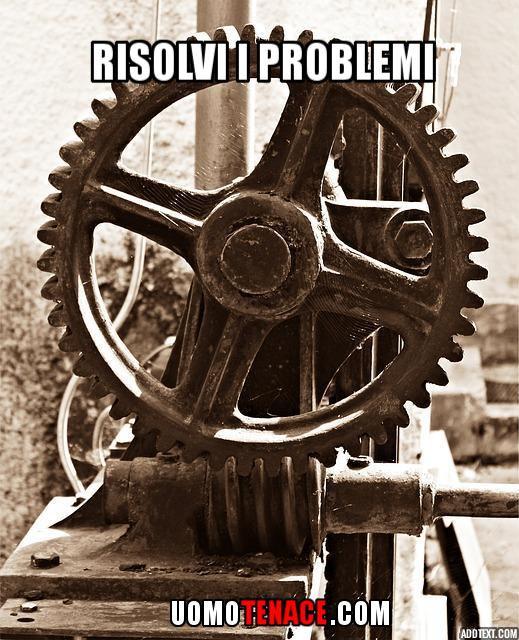 Risolvere i problemi per puntare all'eccellenza