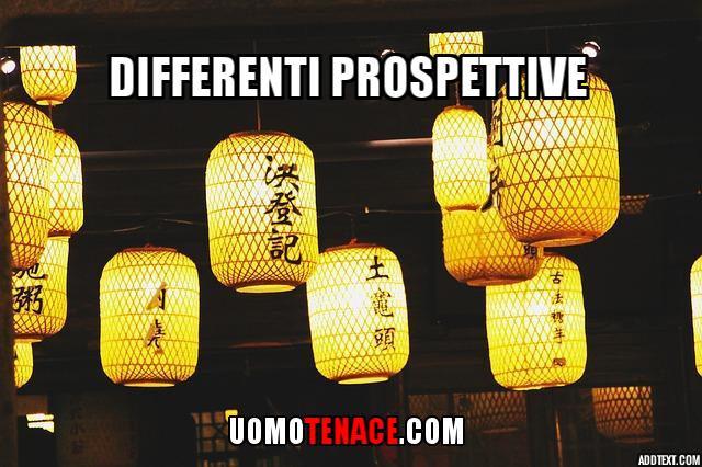 Differenti prospettive#1 Pensieri a random