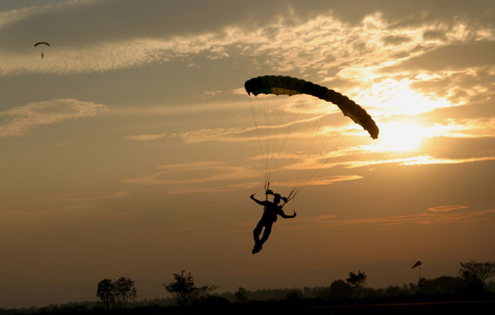 Perché devi lanciarti in paracadute